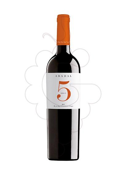 Photo Abadal 5 Merlot Vin rouge
