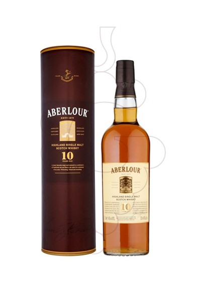 Photo Whisky Aberlour 10 Ans