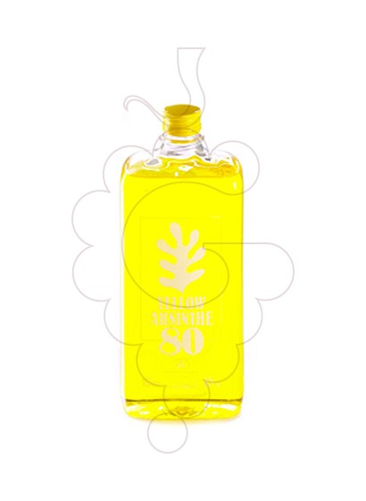 Photo Apéritif Absenta 80 Yellow Flask Plastique