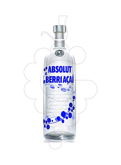 Photo Vodka Absolut Berri Açai