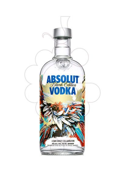 Photo Vodka Absolut Blank Edition (D. Kinsey)