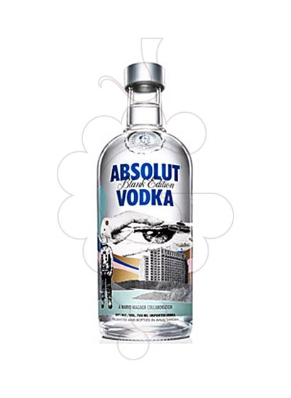 Photo Vodka Absolut Blank Edition (M. Wagner)