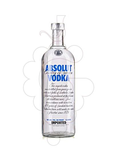 Photo Vodka Absolut