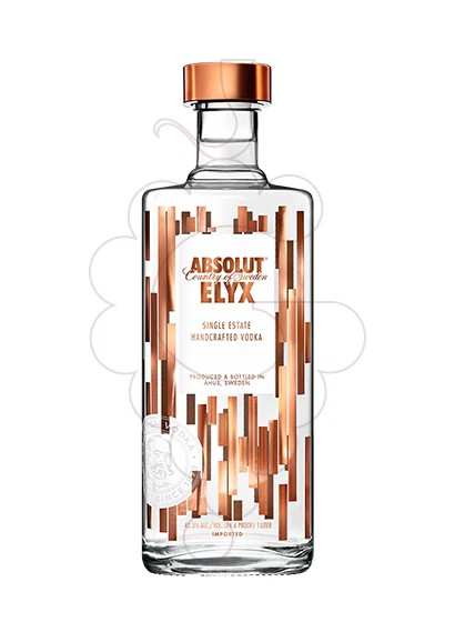 Photo Vodka Absolut Elyx