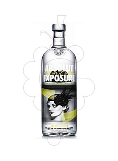 Photo Vodka Absolut Exposure