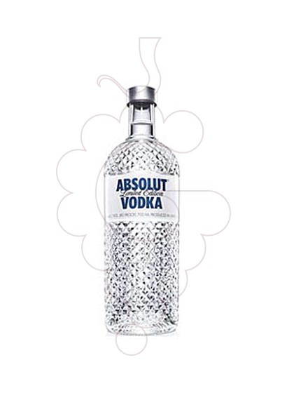 Photo Vodka Absolut Glimmer Edition