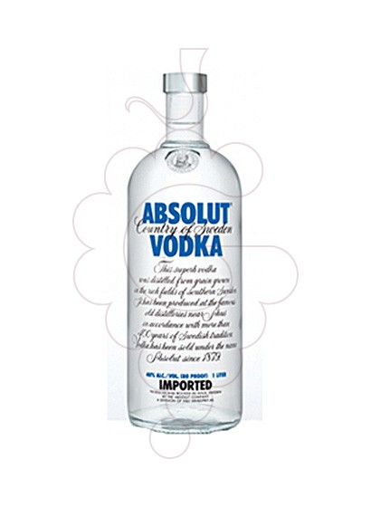 Photo Vodka Absolut