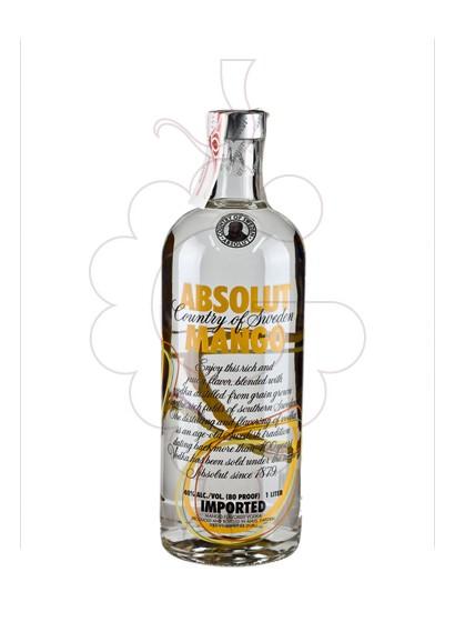 Photo Vodka Absolut Mango