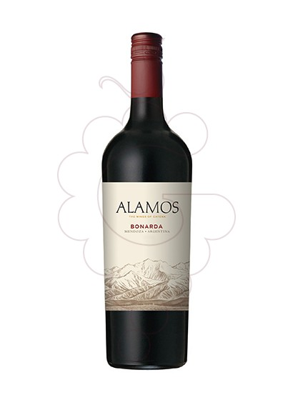 Photo Alamos Bonarda Vin rouge