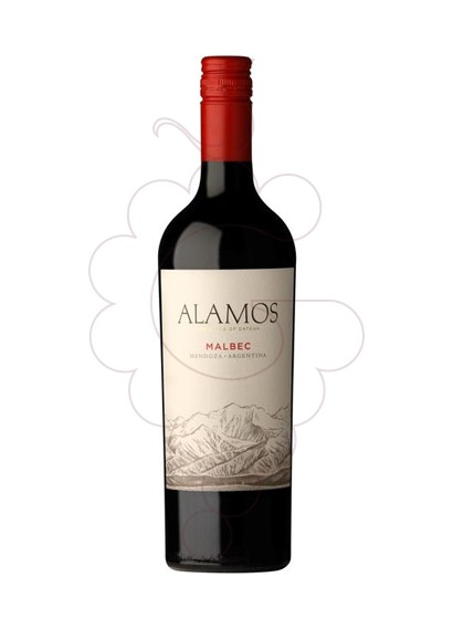 Photo Alamos Malbec Vin rouge