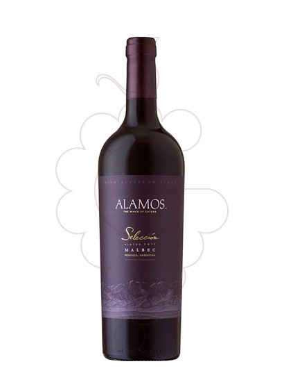Photo Alamos Selección Malbec Vin rouge