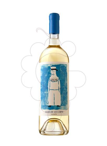 Photo Albariño Abadia de San Campio Vin blanc