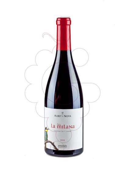 Photo Albet i Noya Finca la Milana Vin rouge