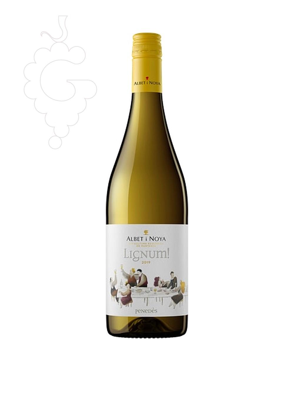 Photo Albet i Noya Lignum Blanc Vin blanc