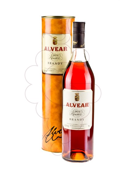 Photo Brandy Alvear Gran Reserva 25 Ans