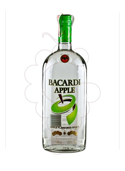Photo Rhum Bacardi Apple