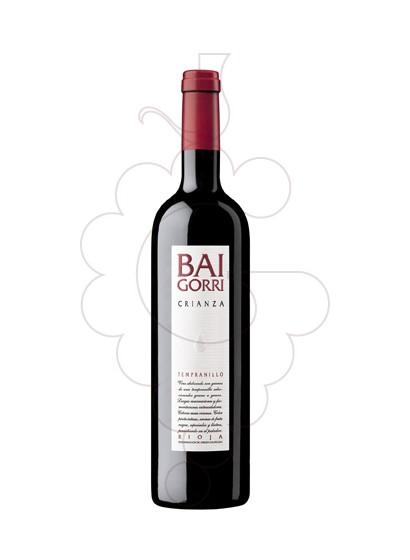 Photo Bai Gorri Crianza  Vin rouge