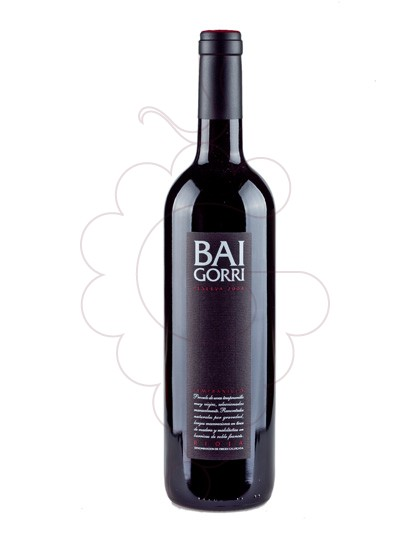 Photo Bai Gorri Reserva  Vin rouge
