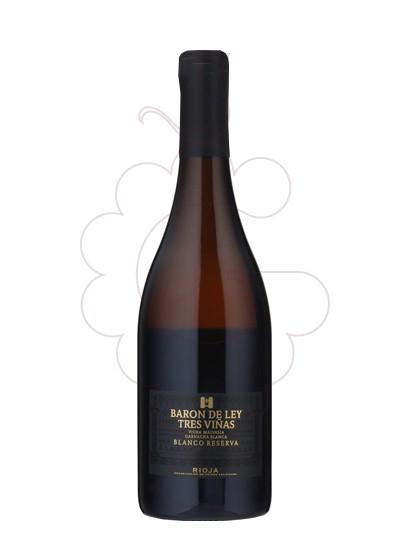 Photo Barón de Ley Tres Viñas Vin blanc