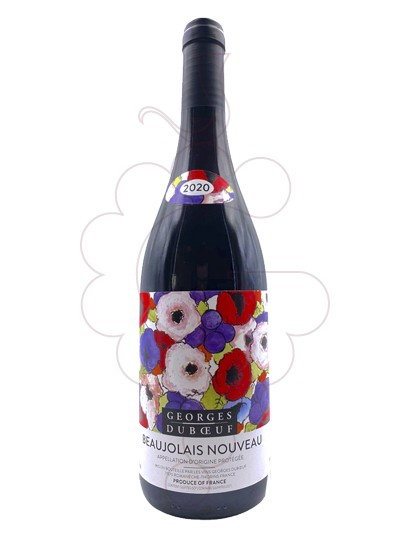 Photo Georges Duboeuf Beaujolais Nouveau Vin rouge