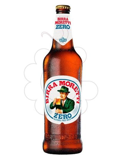 Photo Bière sans alcool Birra Moretti Zero s/alc