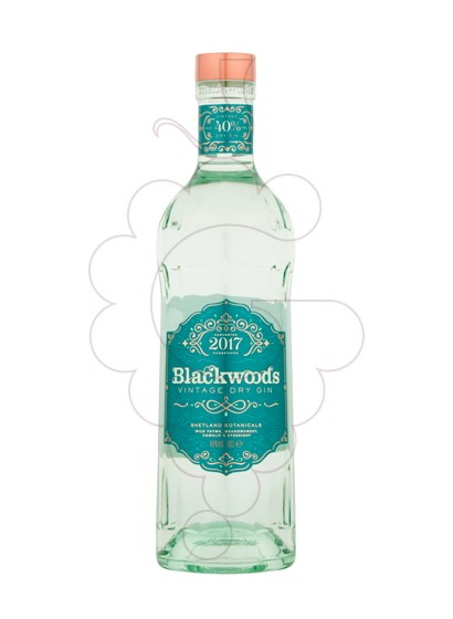Photo Gin Blackwood's Gin