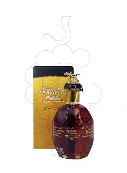 Photo Whisky Blanton's Gold Edition