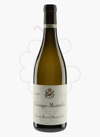 Photo Bernard Moreau Chassagne-Montrachet Vin blanc