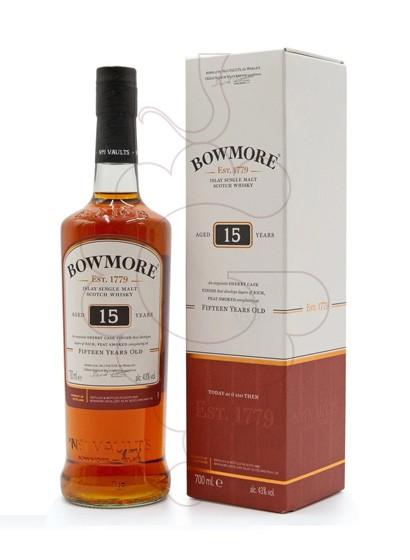 Photo Whisky Bowmore Darkest 15 Ans
