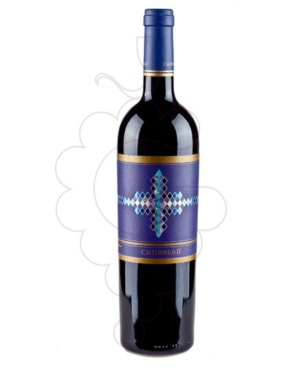 Photo Can Blau Negre Vin rouge