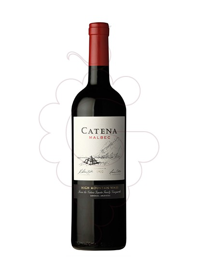 Photo Catena Malbec  Vin rouge