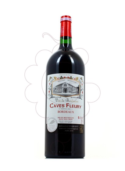 Photo Caves Fleury Rouge Magnum Vin rouge