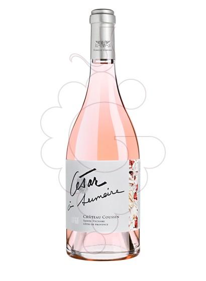 Photo Ch Coussin César à Sumeire Rosé Vin rosé