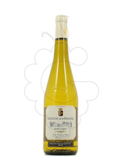 Photo Chateau de la Grange Muscadet Côtes de Grand Lieu Vin blanc