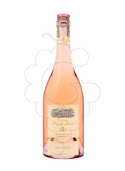 Photo Chateau Puech-Haut Tête de Bélier Rosé Vin rosé