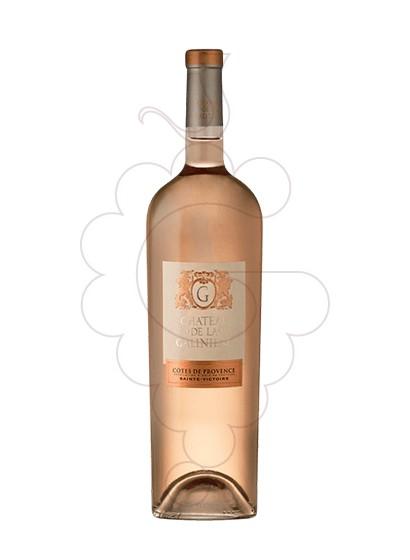 Photo Chateau de la galiniere rose Vin rosé