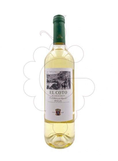 Photo El Coto Blanc Vin blanc