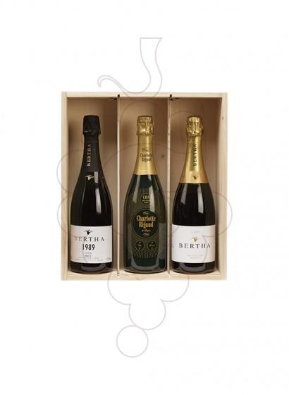 Photo Boîtes de Noël Pack Cava + Vin Blanc