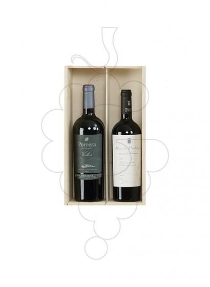 Photo Boîtes de Noël Pack 4 bouteilles de vin Catalogne