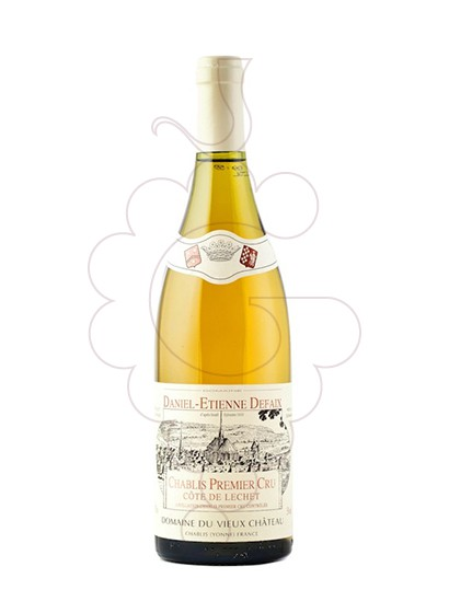 Photo Daniel-Etienne Defaix Chablis 1er Cru Côte de Léchet Vin blanc