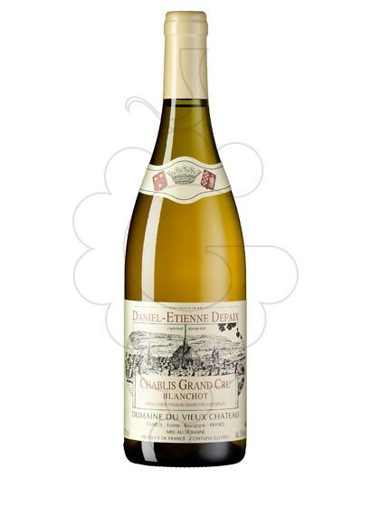 Photo Daniel-Etienne Defaix Chablis Grand Cru Blanchot Vin blanc