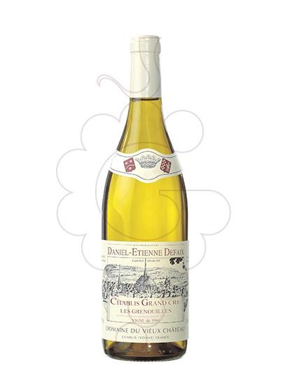 Photo Daniel-Etienne Defaix Chablis Grand Cru Grenouilles Vin blanc