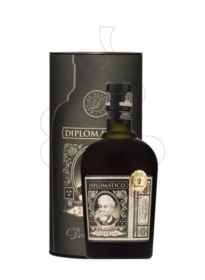 Photo Rhum Diplomático Reserva Exclusiva avec Etui