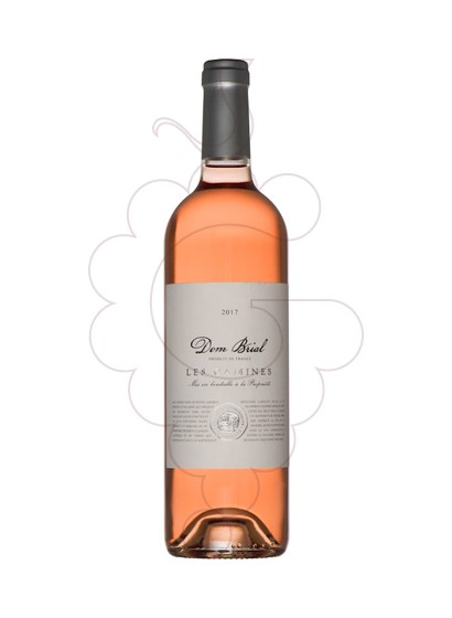 Photo Dom Brial Les Camines Rosé Vin rosé