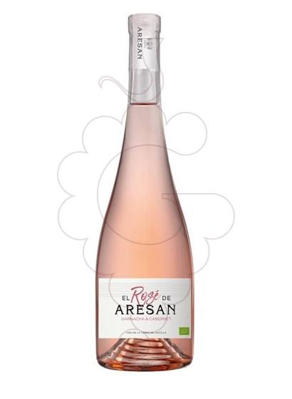 Photo El Rosé de Aresan Vin rosé