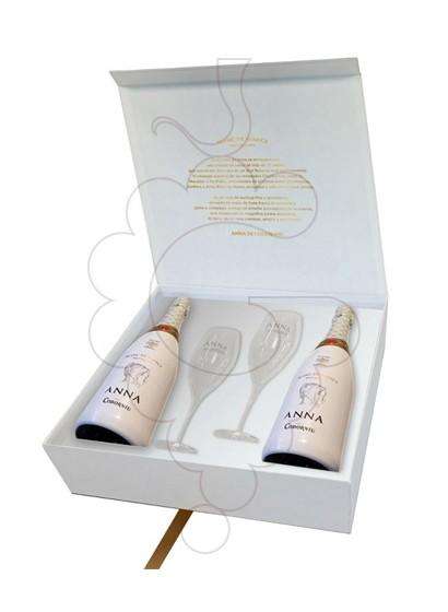 Photo Anna de Codorniu Blanc de Blancs Pack (2 u + 2 verres) Vin mousseux