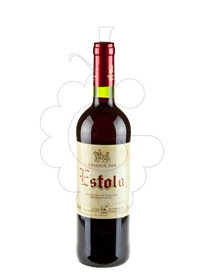 Photo Estola Reserva Vin rouge