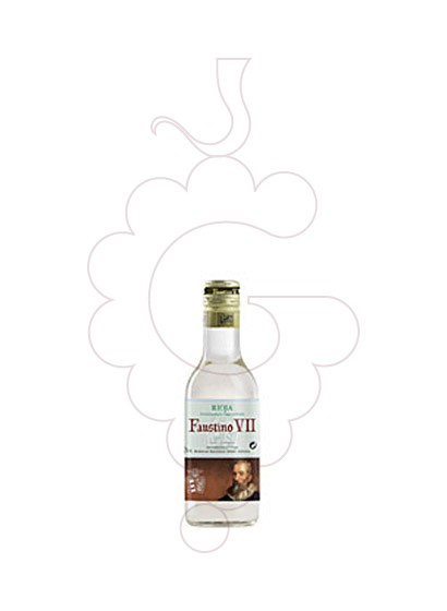 Photo Faustino VII Blanc (mini) Vin blanc