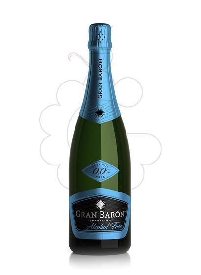 Photo Vin sans alcool Gran baron s/alc 75 cl