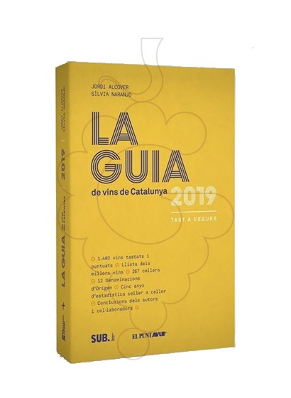 Photo Librairie Guia de Vins de Catalunya 2020 (éd. catalane)